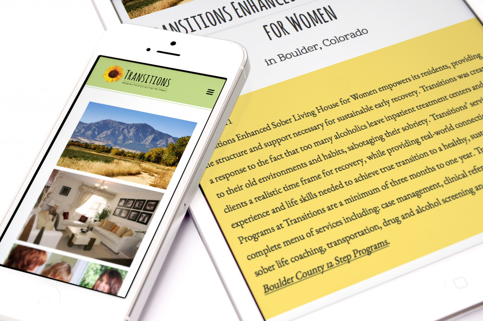 Inspwired Responsive Website Design | Transitions