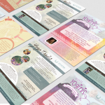 Amana Yoga Studio Flyers | Graphic Design | Flyer Design