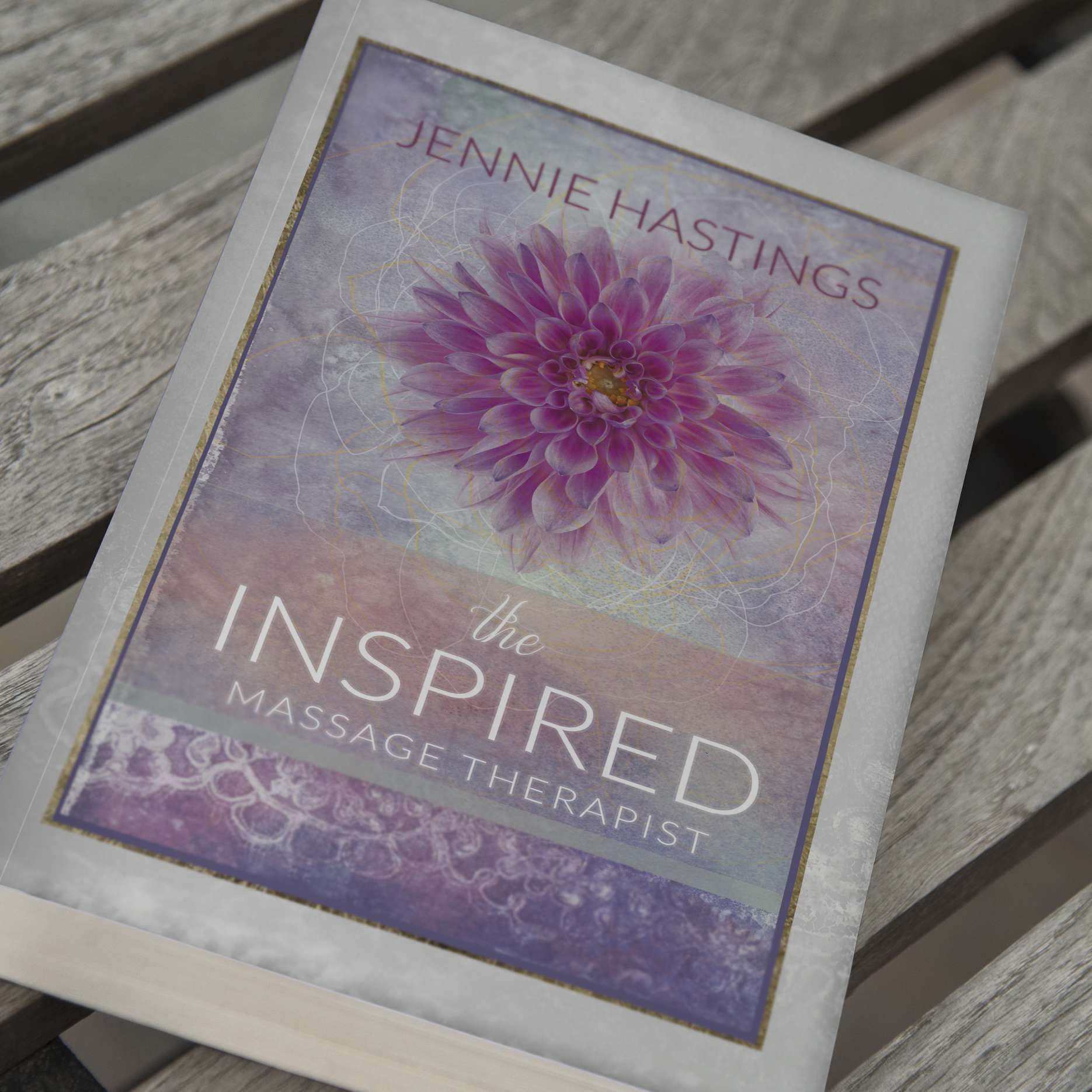 Inspwired Book Cover Design | The Inspired Massage Therapist II