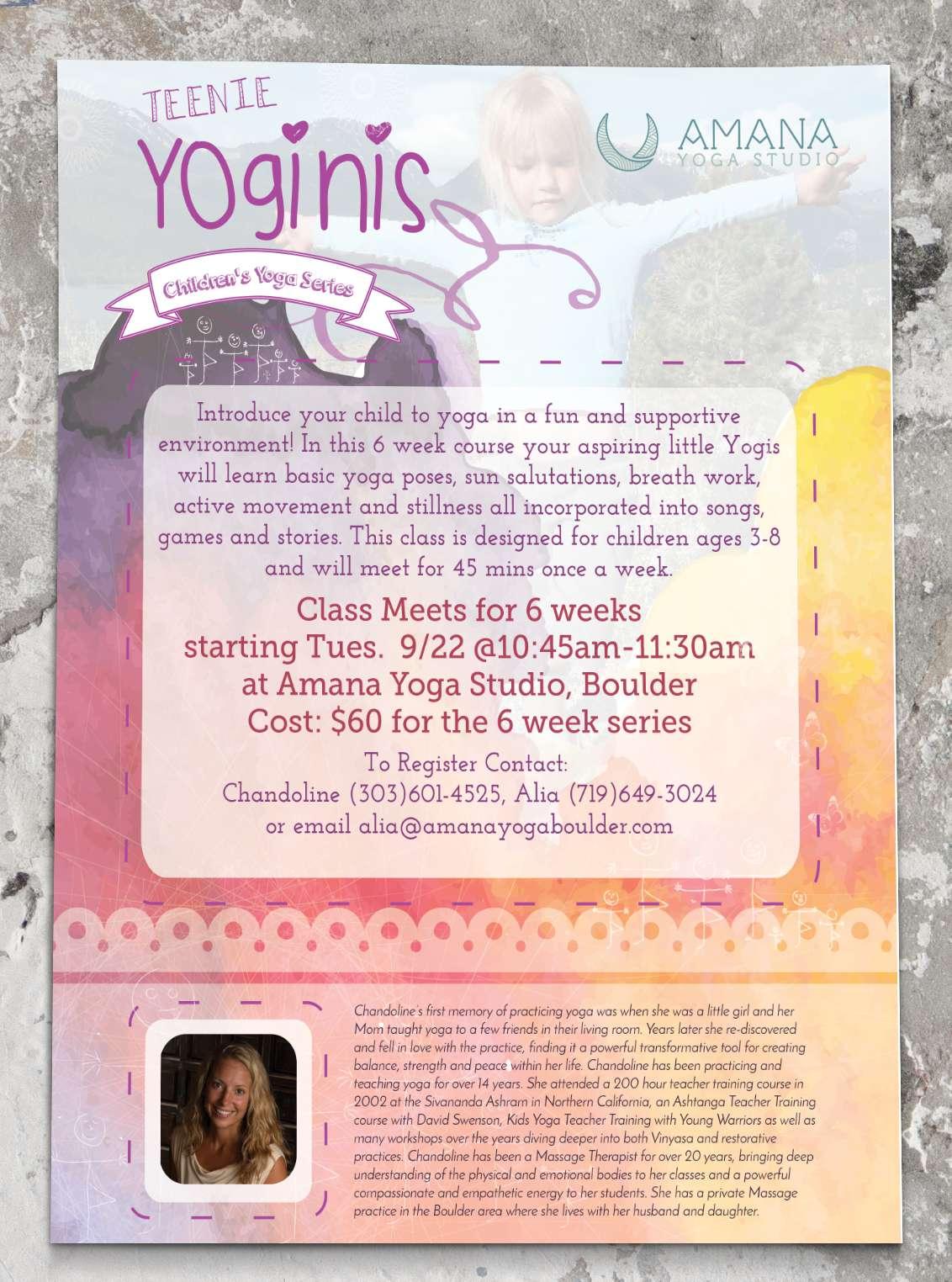 Inspwired Flyer Design   Amana Yoga
