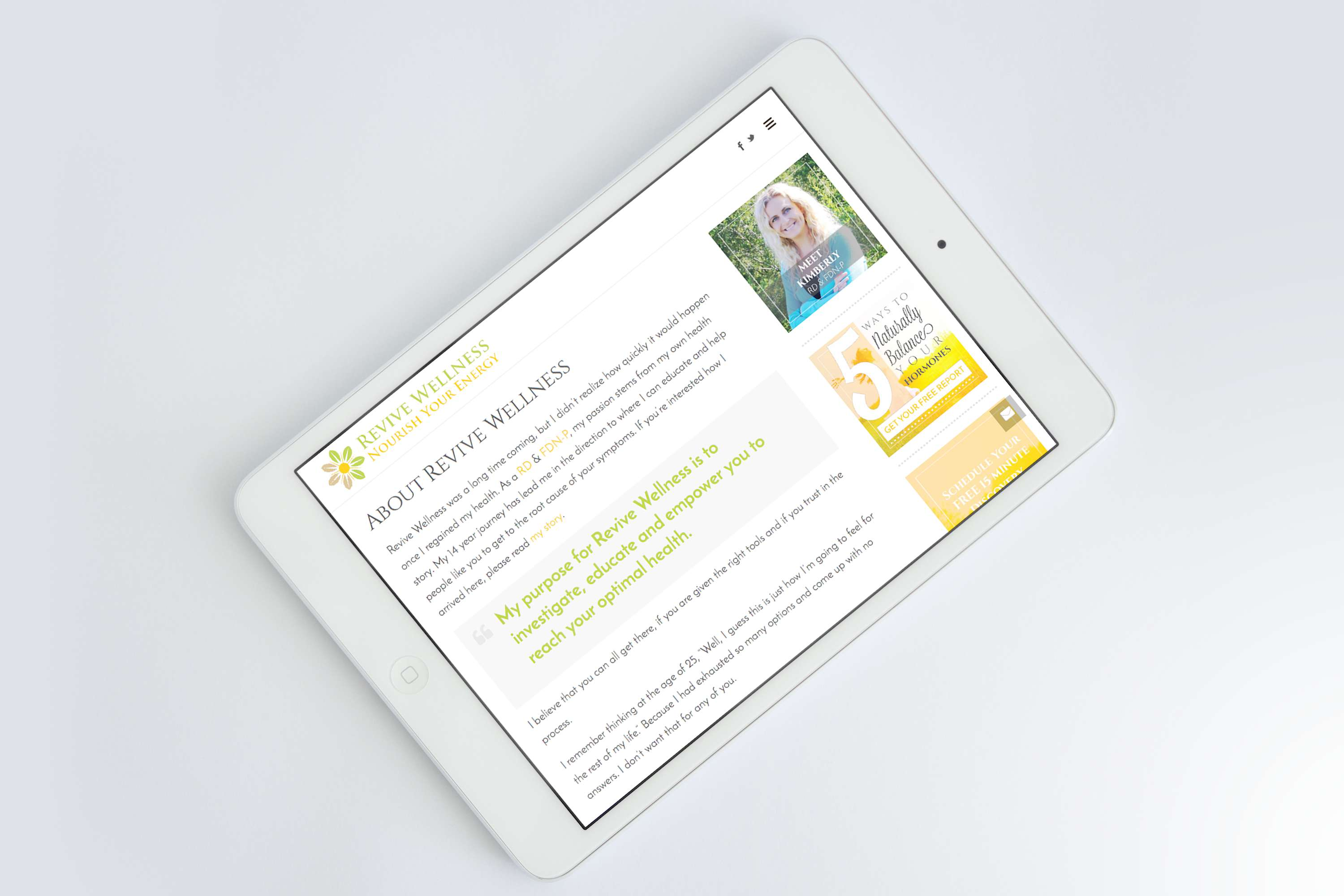 Inspwired Mobile Friendly Responsive Website Design | Revive Wellness copy