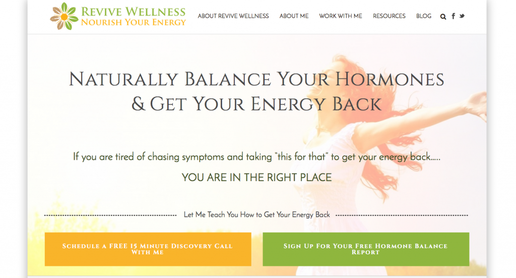 Jupiter Theme Examples | Creative Agency Boulder Colorado | Website Design | Revive Wellness