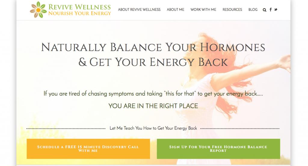 Jupiter Theme Examples | Creative Agency Boulder Colorado | Website Design | Revive Wellness