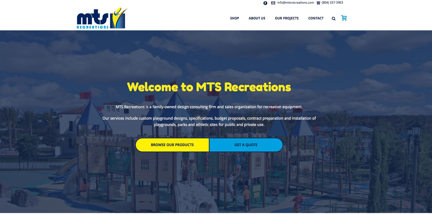 Jupiter Theme Examples | Creative Agency Boulder Colorado | Website Design | MTS Recreations