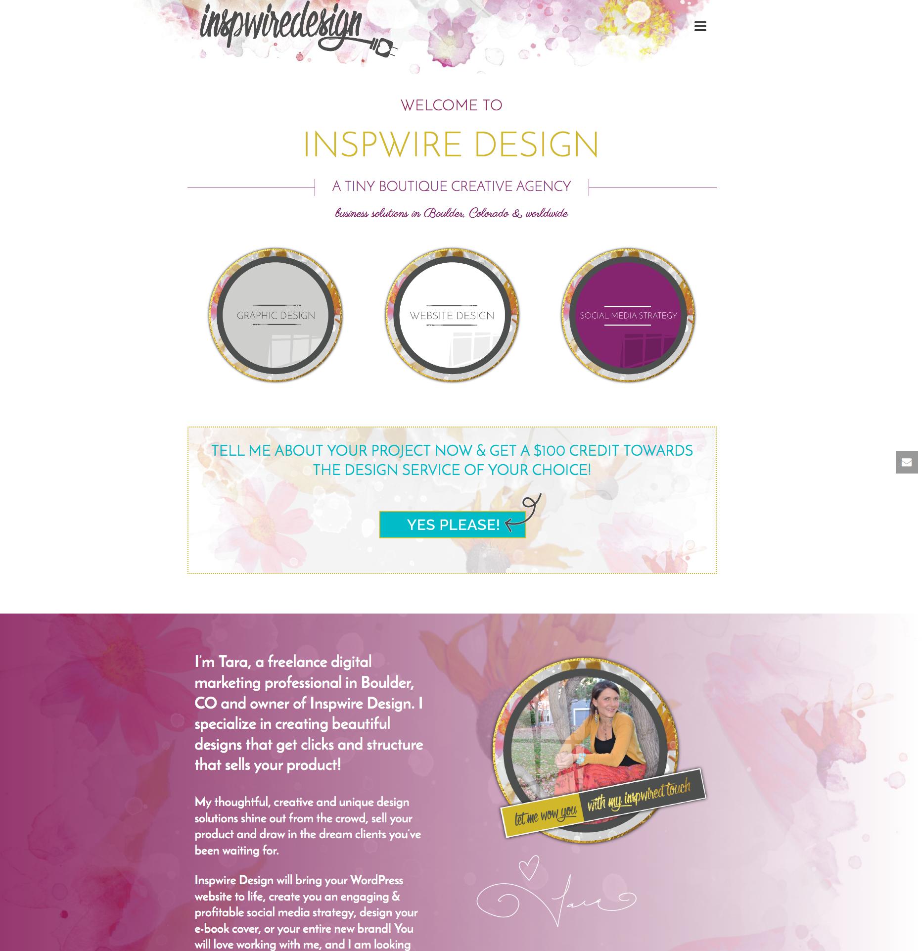 Jupiter Theme Examples | Creative Agency Boulder Colorado | Website Design
