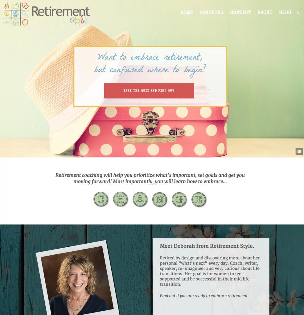 Jupiter Theme Examples | Creative Agency Boulder Colorado | Website Design |Retirement Style