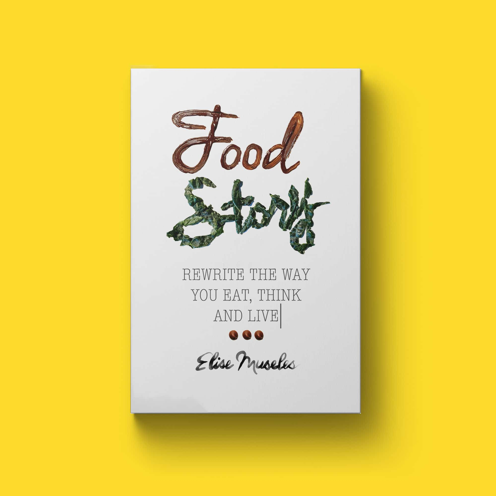 food-story-book-cover-design
